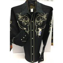 Camisa Vaquera Navajas Espuela De Oro