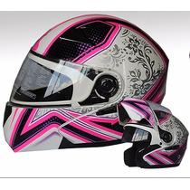 Casco Faseed Abatible Dama 901 Cute Cert Ece Motociclismo
