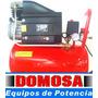Compresor Aire Domosa 2hp 25lts Portátil