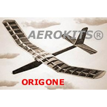 Aeromodelismo - Planeador Origone En Madera Balsa Para Armar
