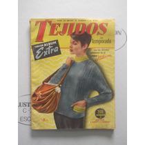 Tejidos,antigua Revista De 1957