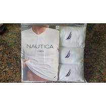 ¦o. Luxuss¦ Paquete 3 Playeras Camisetas Nautica Originales