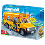 Playmobil Bus Escolar 5940 4 Figuras Con Luz Original Intek