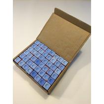 Giz Azul Bilhar Sinuca Sete Belo 144 Unidades