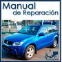 Manual De Taller Y Reparación Suzuki Grand Vitara