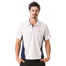 Camisa Polo Masculina Com Proteção Solar Extreme Uv Dry Line