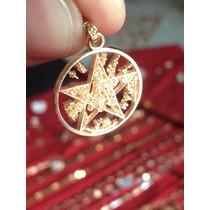 Tetragramaton En Oro De 14 Kilates