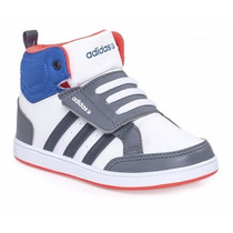 Zapatilla Botita Adidas Hoop Cmf Mid Bb