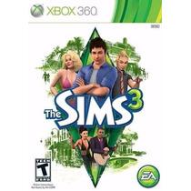 Game The Sims 3 Xbox 360 Originalpronta Entrega