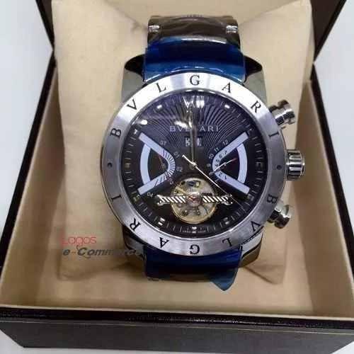 1485f3d8ec1 Relógio Bulgari Iron Man Aço Automático Original - R  339