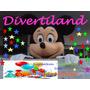 Alquiler De Disfraz Cabezon: Peppa Pig_-minnie- Mickey Mouse
