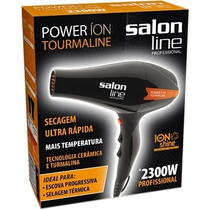 Secador Prof 2300w Power Tourmaline Íon Salon Line
