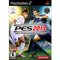 Jogo Novo Pes 2013 Pro Evolution Soccer Ps2 Playstation 2