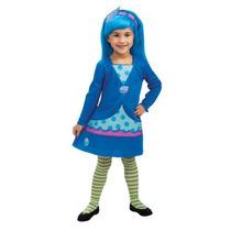 Strawberry Shortcake-blueberry Muffin Niño / Child Costume