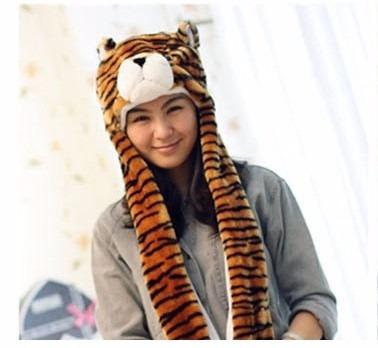 Touca Bichinho Para Adulto E Infantil.tigre Mao Bolso Long - R  34 ... 66ae8fbfe3a