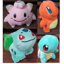 Pokemon Peluches 20cm Bulbasaur Squirtle Charmander