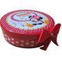 10 Latinhas Plásticas Personalizadas Minnie Vermelha. Minie