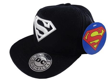 Gorra Plana Original Dc Superman 3d -   660 6b5beb78653