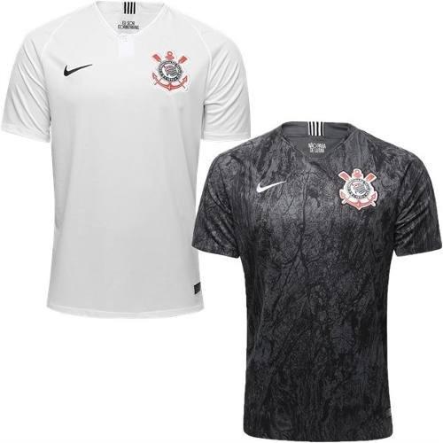 c3c0eb6d3e Kit 2 Nova Camisa Corinthians Uniforme 1 E 2 Frete Gratis - R  200 ...