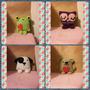 Souvenirs Osito Sapo Perro Buho Animalitos Crochet Amigurumi