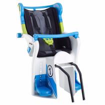 Silla Portabebe Para Bicicleta Kettler Flipper Negra Azul.
