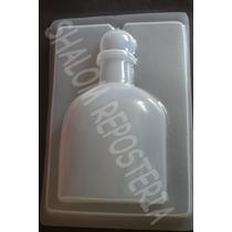*molde Mediano Gelatina Yeso Botella Licor M2 Tequila Ron*