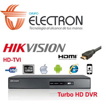 Dvr Hikvision Turbo Hd Ds-7216hghi-f1 Analogo+turbo+2ip1080
