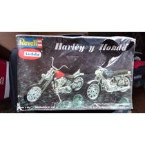 Harley Davidson Y Honda Revell Lodela Escala 1/25