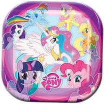 Fiesta My Little Pony Platos Vasos Mantel Letrero Bolsas