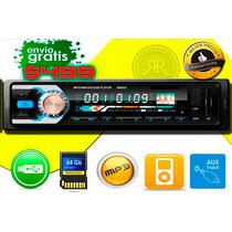 Auto Stereo Mp3 Usb Aux Rca 50w Nvo Envio Inmediato Gratis