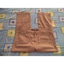Pantalon Camel De Mezclilla Oggui Jeans Para Caballero 36x32