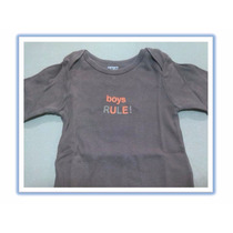 Body Boys Rule Carters 0-9 Meses