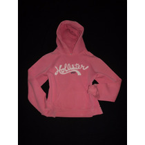 Sudadera Hoodie Hollister Co. Destroyed T-m Original