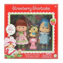 Boneca Moranguinho Strawberry Shortcake Blueberry Uvinha