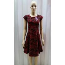 Vestido Moda Evangélica Em Jacquard Tecido Grosso