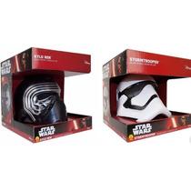 Star Wars Disney 2 Cascos Deluxe Kylo Ren Y Stormtrooper