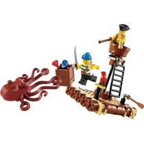 Coleção Lego (6240). Set Piratas Do Caribe. Ataque Kraken.