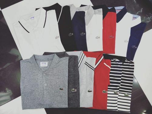 5ab4595861794 Camisa Polo Lacoste Original Lançamento - R  189