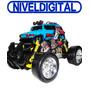 Camioneta Drifting 4x4 Radio Control Ocho Ruedas Pack + Carg