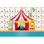 Painel Decorativo Festa Infantil Circo Palhaço (circo01)
