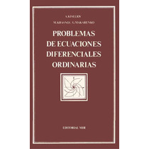 Libro: Problemas De Ecuaciones Diferenciales Ordinarias- Pdf