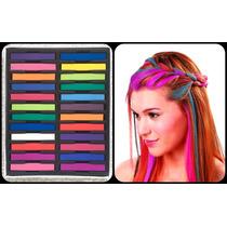 Tizas Para Pintar Teñir El Pelo Mechas Color Hair Chalk