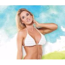 Bikini Cocot Corpiño Triangulo Volados 12569 Traje De Baño