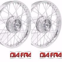 Roda Moto Honda Biz 100 Dianteira Traseira (par) Mod Origina