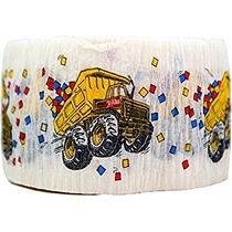 Juguete Tonka Truck Partido Crepe Streamer Papel De Niños D