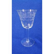 Copas De Cristal Tallado Al Acido 10 Pcs N57