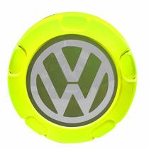 Calota Centro Roda Vw Saveiro G5 Trooper - Verde Limão