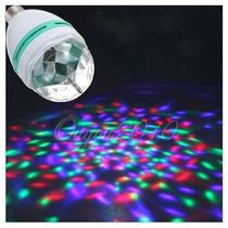 Esfera Luz Led De Colores Rotativa - Gangaaa!!!
