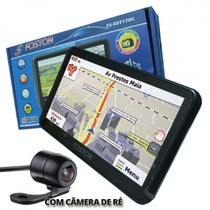 Gps Automotivo Foston Fs 3d 717 Camera Ré Tv Digital Tela 7