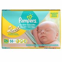 Pañales Pampers Recien Nacido X 56